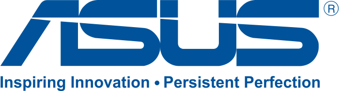 ASUS logo - inspiring innovation persistent perfection