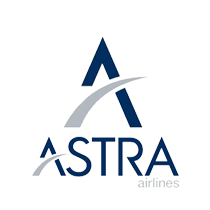 Astra Airlines logo, small