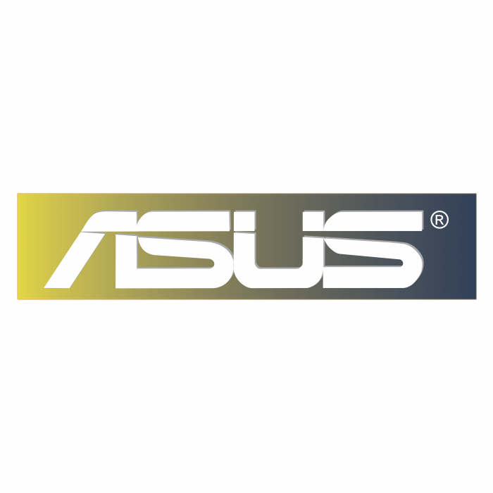 Asus logo colored
