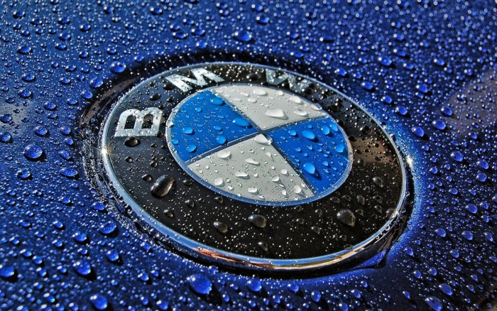 BMW logo, full hd wallpaper