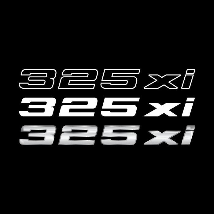 BMW 325 xi logo