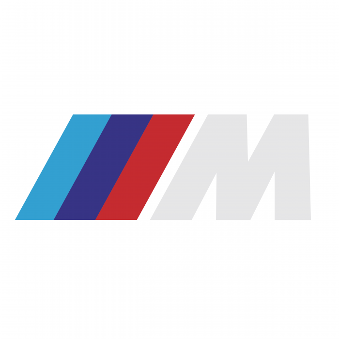 BMW M Series logo white