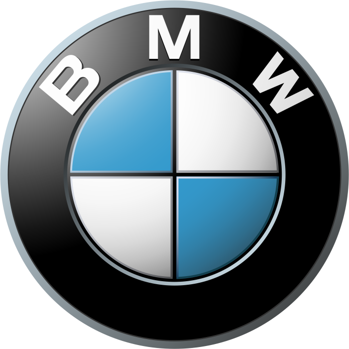BMW logo, big, transparent, png