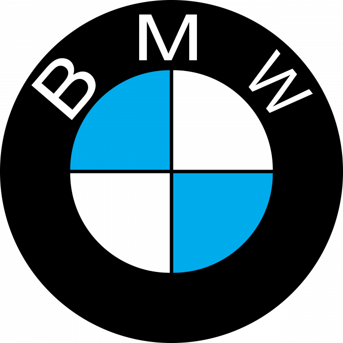BMW logo blue