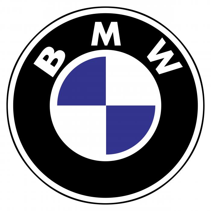 BMW logo violet