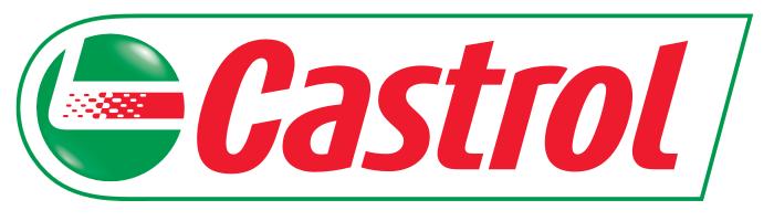 Castrol logo 3D, white background