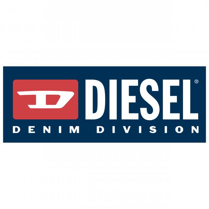 Diesel logo blue