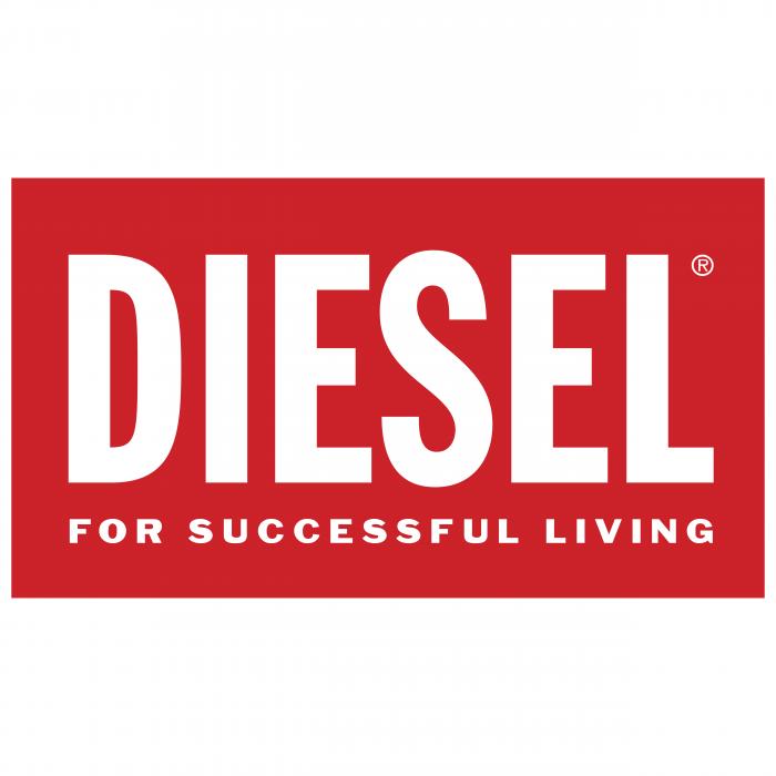 Diesel logo red