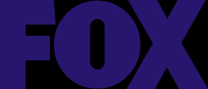 Fox logo (indigo color, Broadcasting Company)