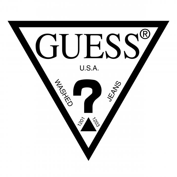GUESS Jeans USA logo