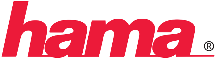 Hama logo, white