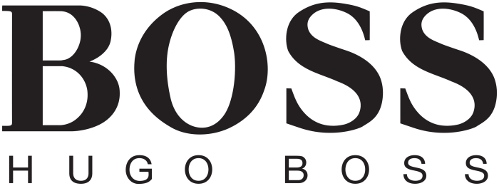 Hugo Boss logo (white background)