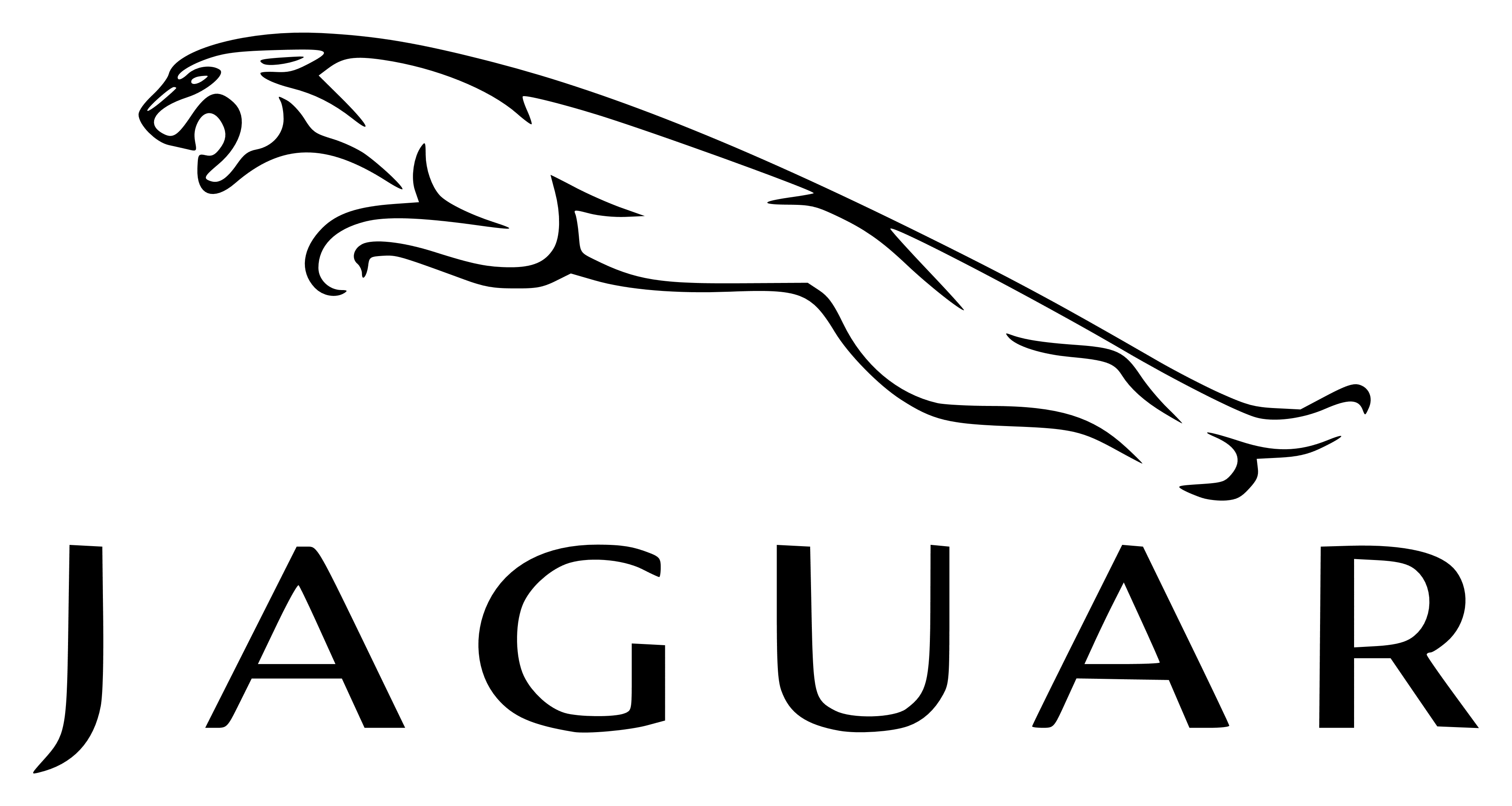 jaguar logo, transparent, png – logos download