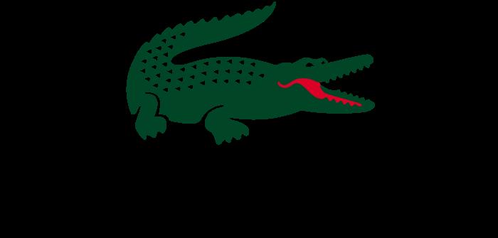 Lacoste logo, transparent bg
