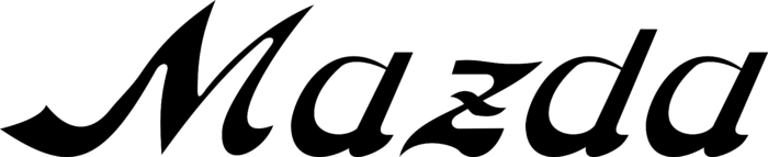 Mazda wordmark Logo 1934
