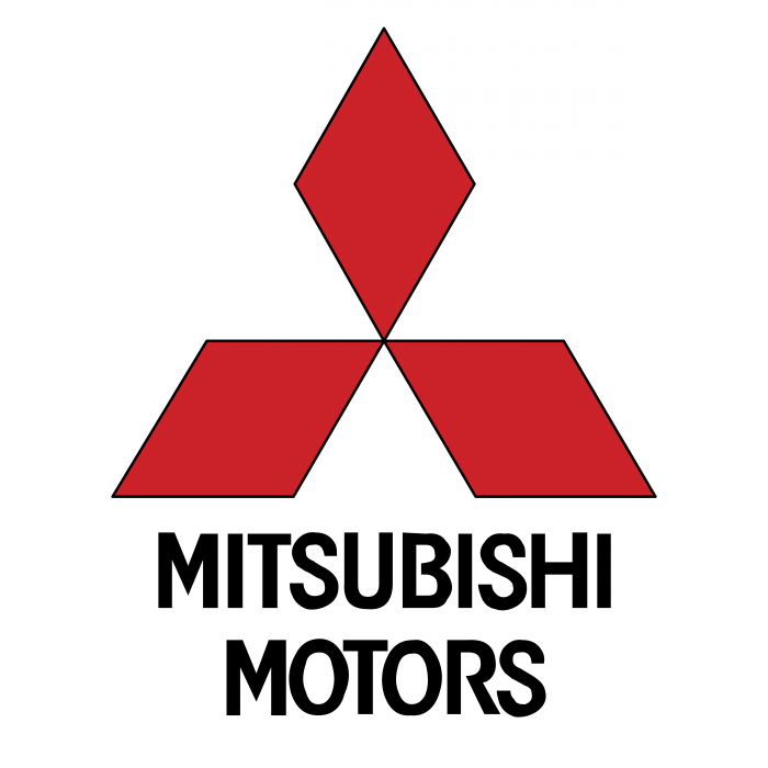 Mitsubishi Motors logo red