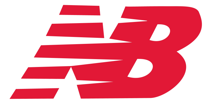 New Balance red logo