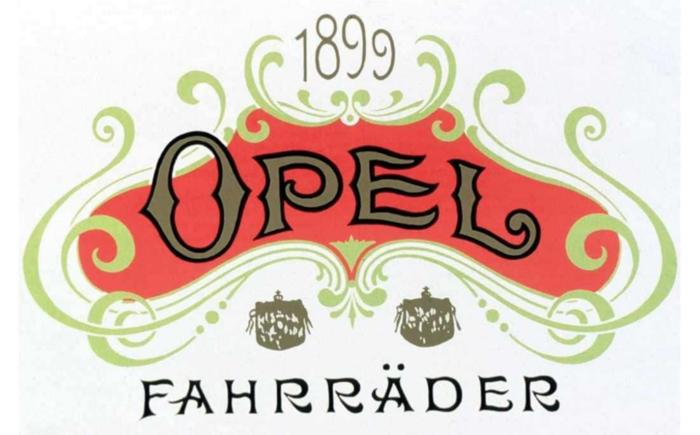 Opel Fahrräder Logo 1899