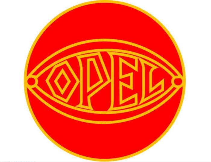 Opel General Motors Logo 1928