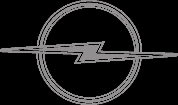 Opel badge Logo 1964
