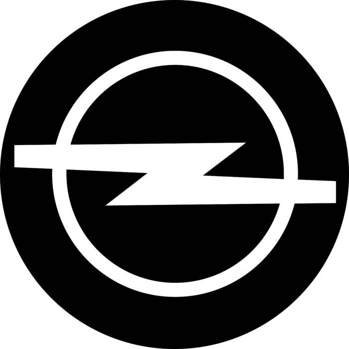 Opel badge Logo 1991
