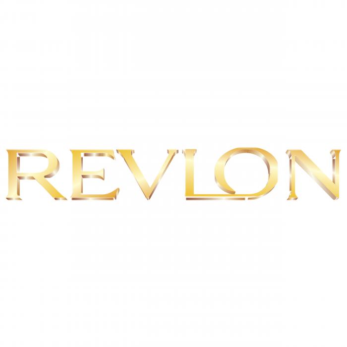 Revlon logo gold
