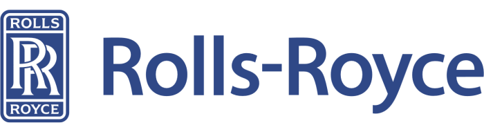 Rolls-royce logo, white