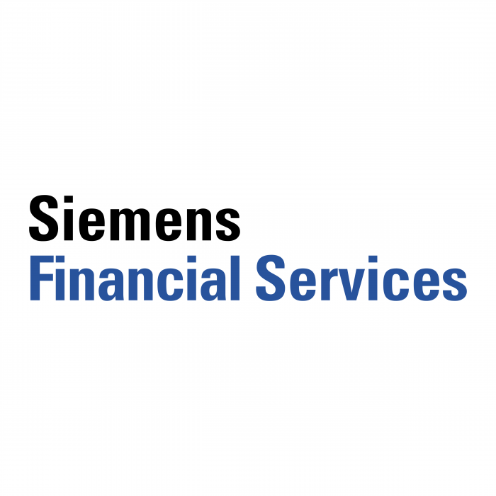 Siemens Financial Services logo black