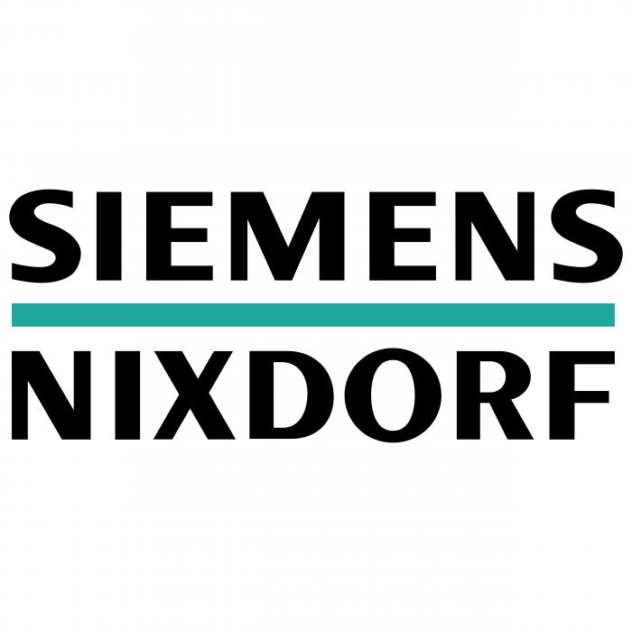 Siemens Nixdorf logo blue