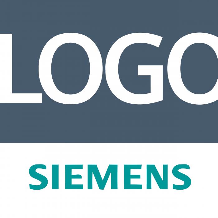 Siemens logo blue