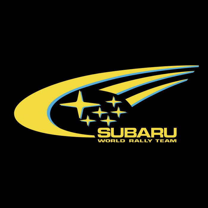 Subaru World Rally Team logo cube