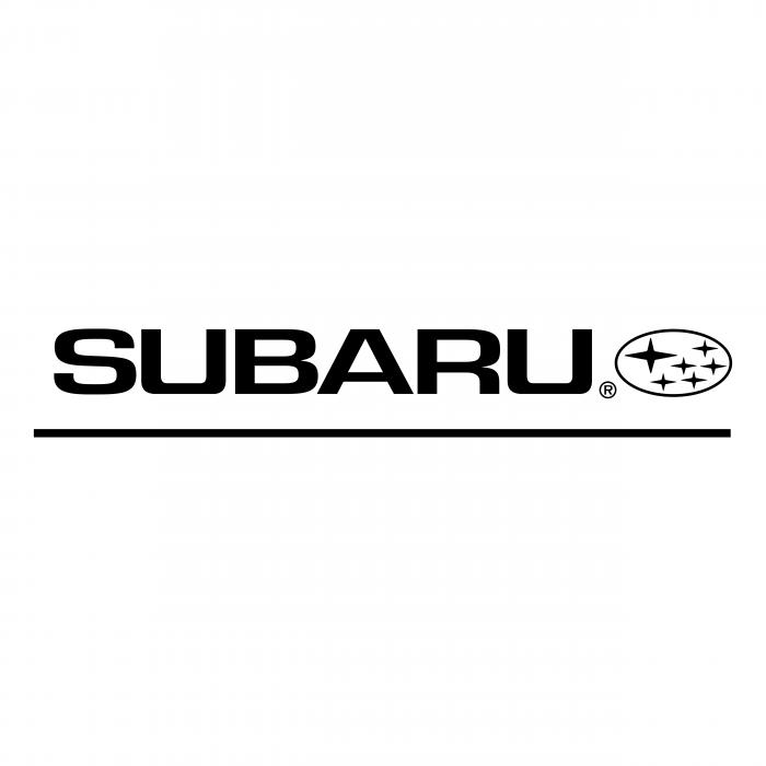 Subaru logo black