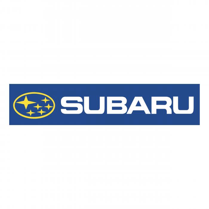 Subaru logo blue