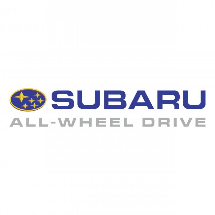 Subaru logo silver