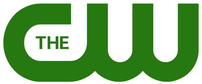 The CW logo, white, 4800x2000