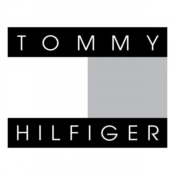 Tommy Hilfiger logo grey