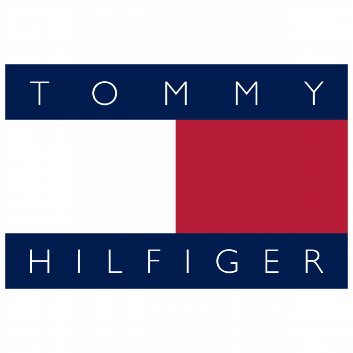 Tommy Hilfiger logo red