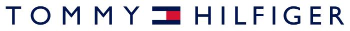 Tommy Hilfiger logo, white