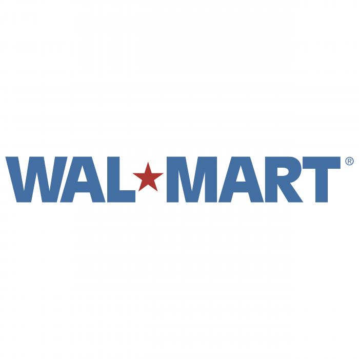 Wal Mart logo blue