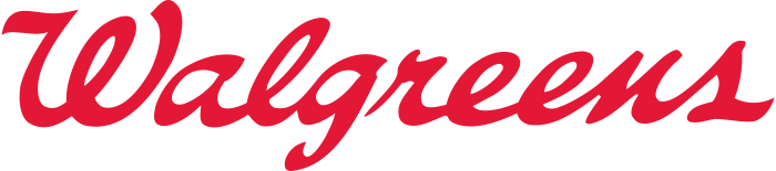 Walgreens logo, transparent, 4274x944