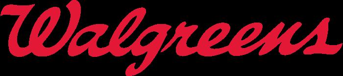 Walgreens logo, transparent, 4274x944
