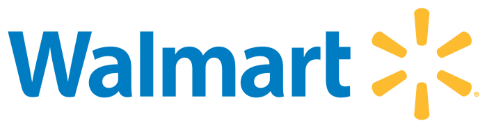 Walmart logo, transparent, png