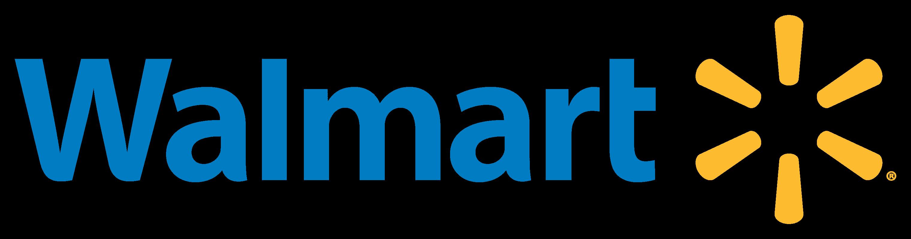 Walmart logo  logotype...