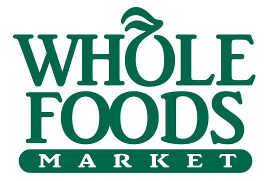Whole Foods Market logo, white background