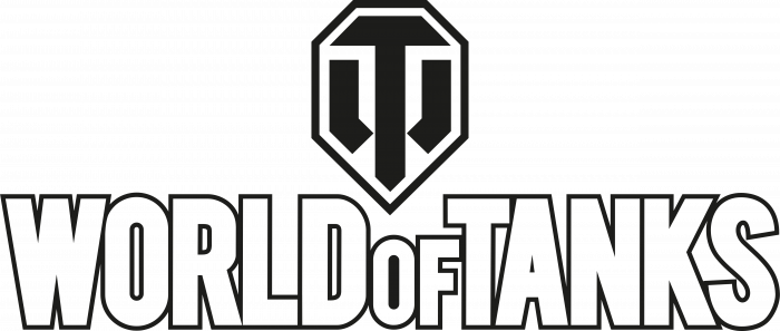 World of Tanks logo white