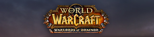 World of Warcraft Warlords of Draenor logo