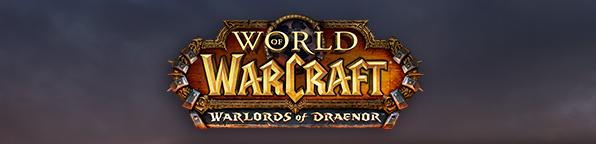 World of Warcraft Warlords of Draenor logo