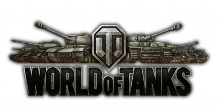 World of tanks - logo with tanks