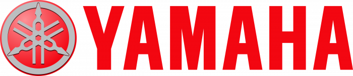 Yamaha Motor Company Logo text red