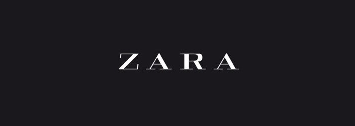 Zara, dark logo